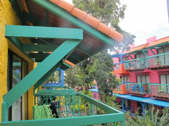 Baan Samui Resort : Our Balcony window