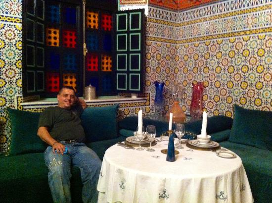 L Mansion Marrakech: Just waiting for some food