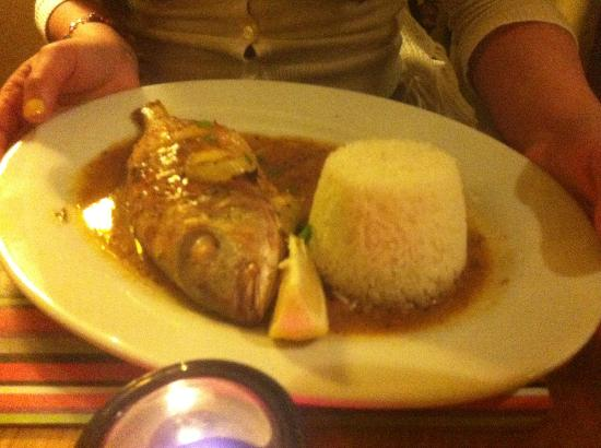 embe restaurant: Red Snapper