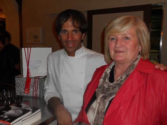 Cornaredo, Italien: io con il grande chef