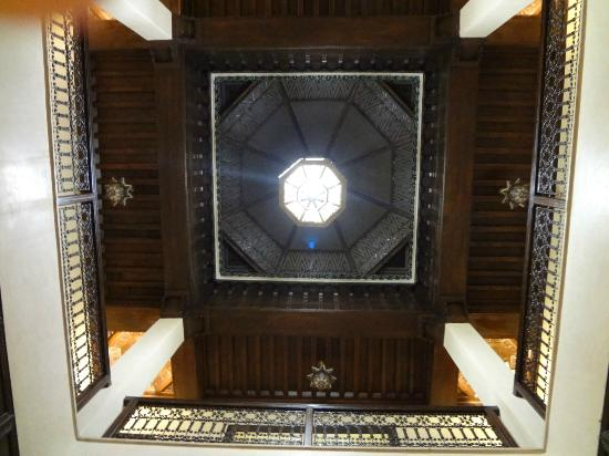 Interior decoration of Riad Bahia Salam in Marrakech