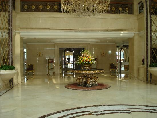 ‪‪Celebrity International Grand Hotel Beijing‬: Lobby area‬
