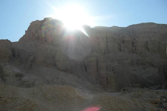 Tomb of Ay : Sonnenuntergang