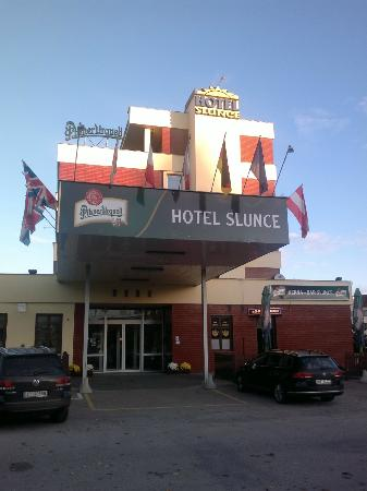 Hotel Slunce: Aussen