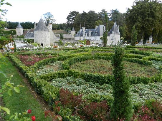 Jardins et château de La Chatonnière : Jardin du châyeau