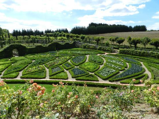 Jardins et château de La Chatonnière : Le jardin