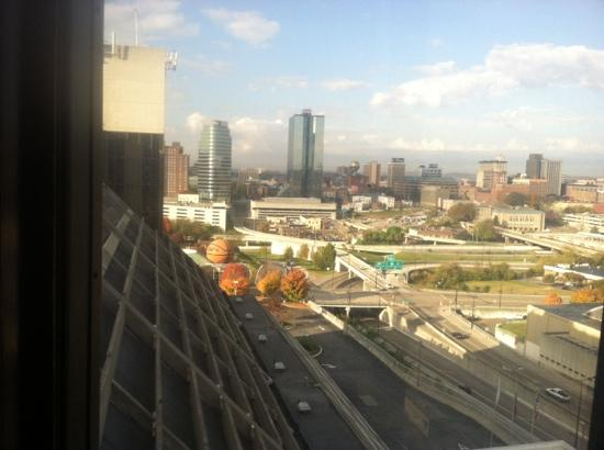 Knoxville Marriott: View of downtown Knoxville from 10th Floor