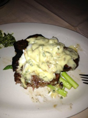 Dry Aged Porterhouse With Crab Oscar Picture Of Butcher Singer - Singer cuisine