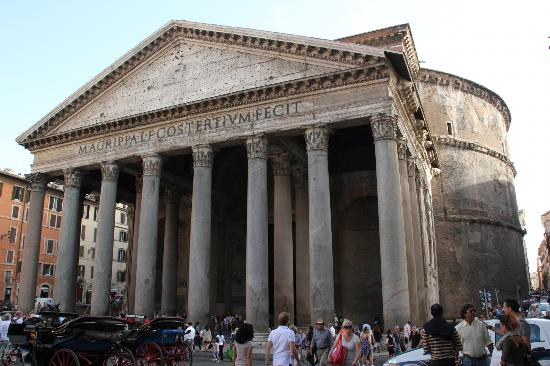 Pantheon - Rome   Inexhibit   Pantheon Dome Exterior