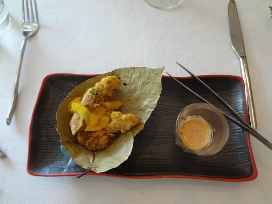 Indian Accent: Chicken