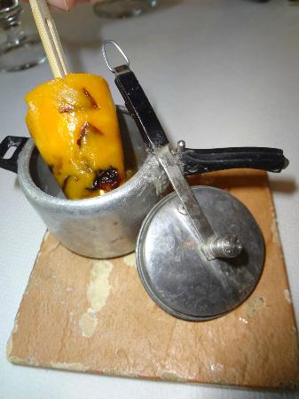 Indian Accent: Mango Kulfi