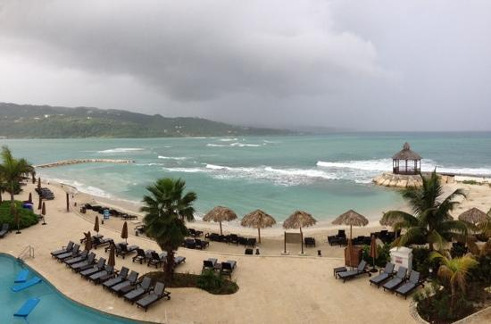 Secrets Wild Orchid Montego Bay: A view from our balcony in Club Preferred