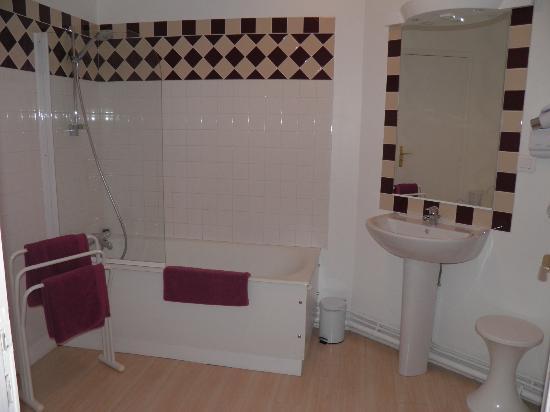 Hotel Patton : la salle de bain