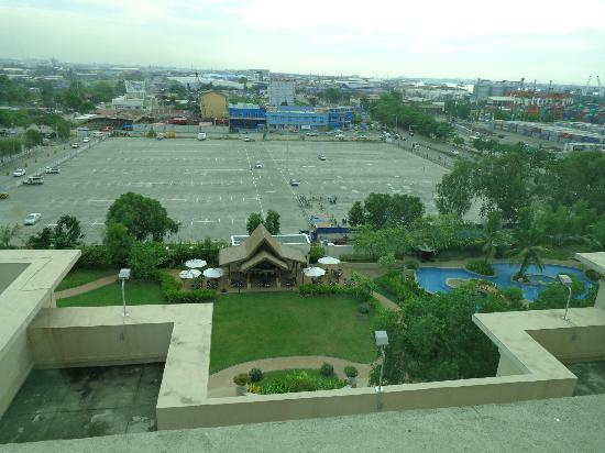Pool View From Our Room Picture Of Radisson Blu Cebu Cebu City Tripadvisor