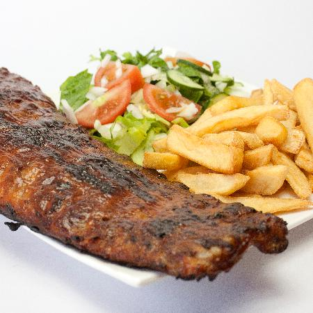 Lithos Bar & Grill: Lithos Famous BBQ Ribs