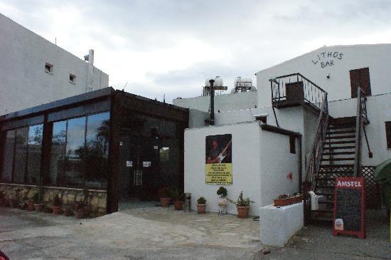 Lithos Bar & Grill: Lithos entrance