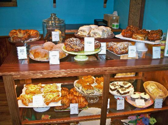 Crissy's Breakfast & Coffee Bar : Delicious bakery items at Crissy's