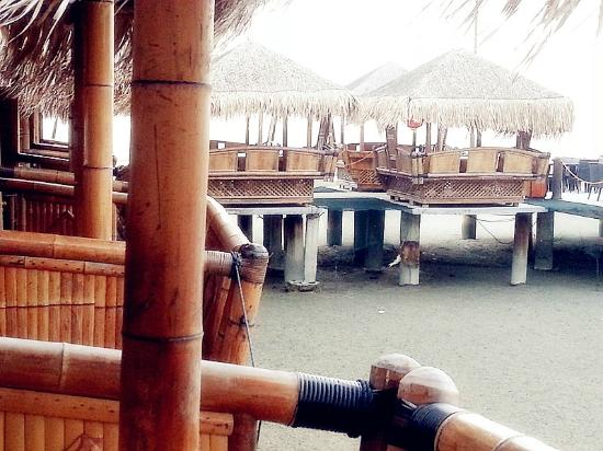 Gold Coast Morib International Resort: The Huts inside The Pier