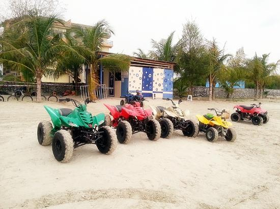 Gold Coast Morib International Resort: ATV Ride