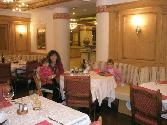 Hotel Piz Galin: Sala ristorante
