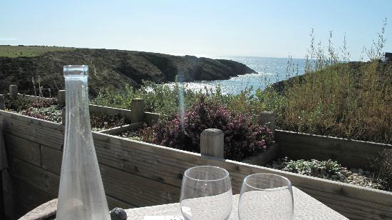 Castel Clara Thalasso & Spa: Déjeuner à la terrasse du Café Clara