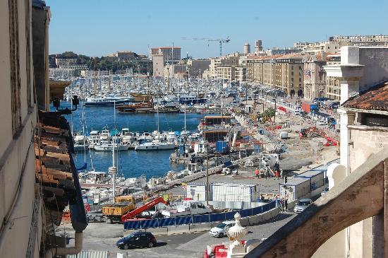Vu De La Chambre Picture Of New Hotel Vieux Port Marseille - New hotel vieux port marseille