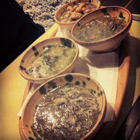 Il Richiastro: Vegetable soups