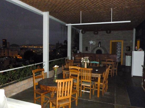 Terra Brasilis Hostel: terrasse