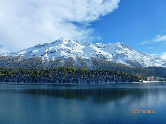 Piz Bernina: Beautiful Landscape