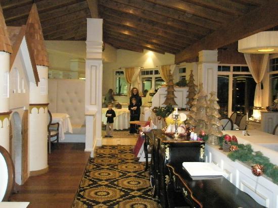 Finkennest: sala ristorante