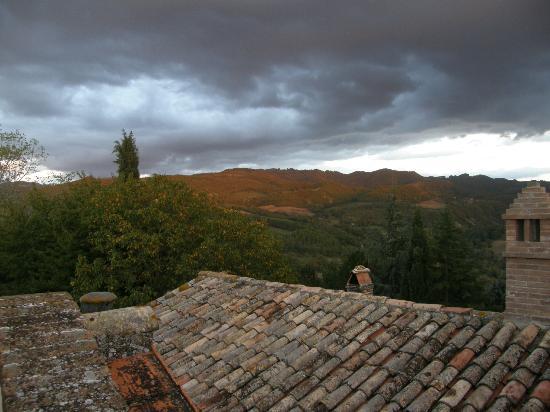 Villamena view from balcony