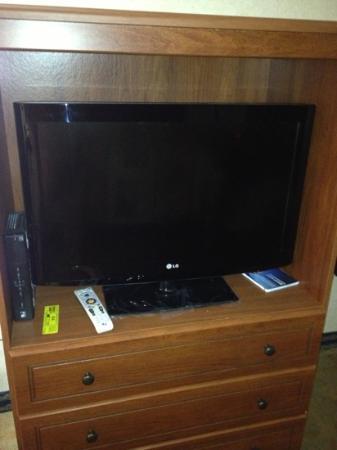 Days Inn Ridgefield : flat screen tv