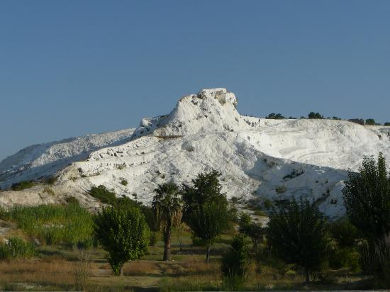 Hal-Tur Hotel: View of Pamukkale