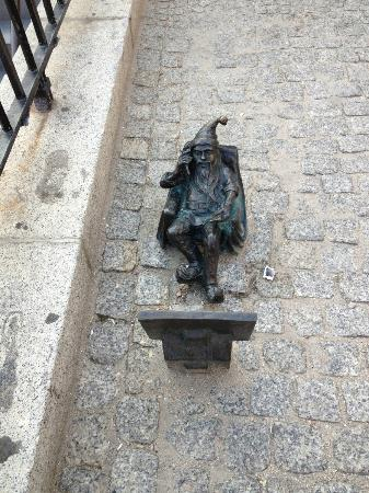 Best Western Prima Hotel Wroclaw: They have these little elf statues around the squares. Cute.