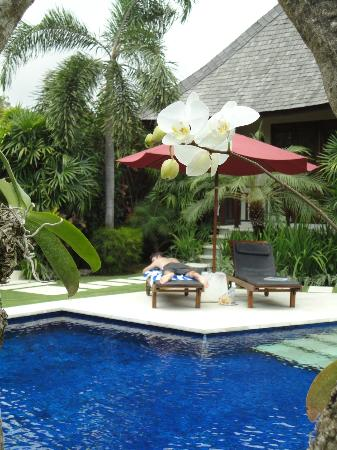 The Kunja Villas & Spa: Quiet down time