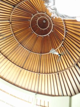 The Kunja Villas & Spa: Gorgeous roof