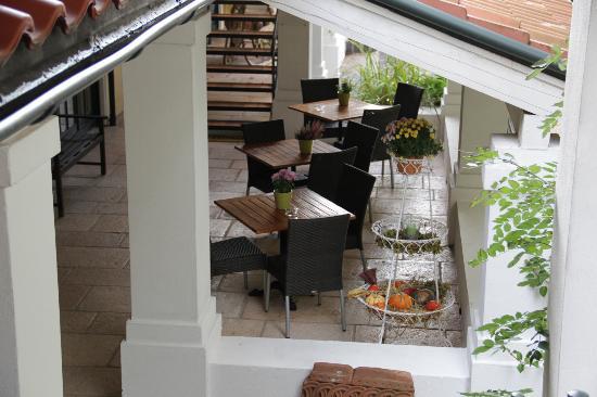Hotel Brenner'scher Hof: Terrasse