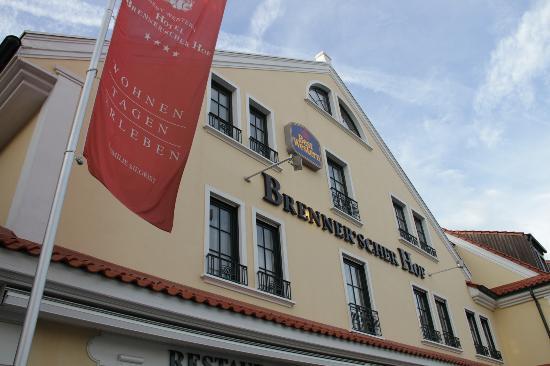 Hotel Brenner'scher Hof: Außenansicht