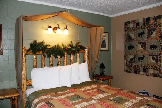 Moose Creek Inn: Une chambre