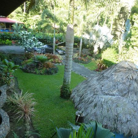 Hotel Banana Azul: some of the beautifully landscaped garden