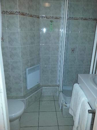 Hotel Du Parc: Bathroom of standard dbl room
