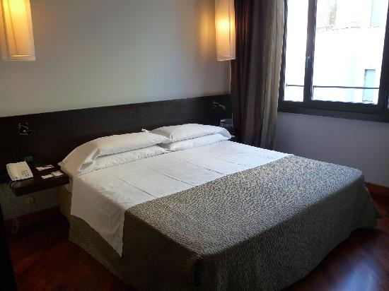 Hotel Re di Roma: separates Schlafzimmer