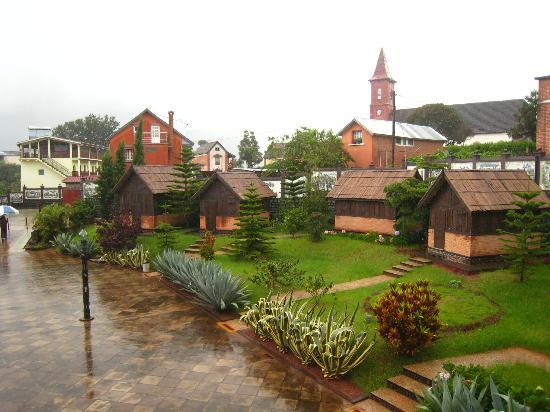 Ambositra, Madagaskar: les bungalows