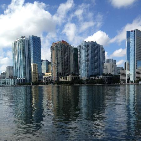 Mandarin Oriental, Miami: View from beach area.