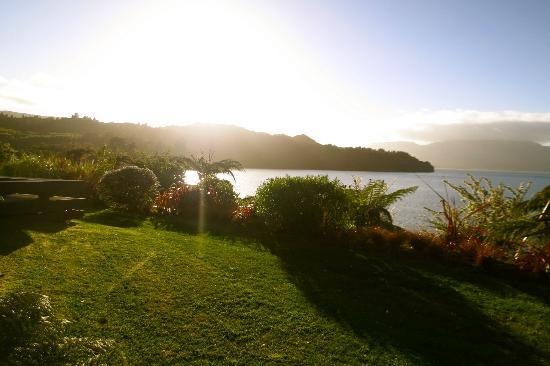 Solitaire Lodge : Lake views from villa