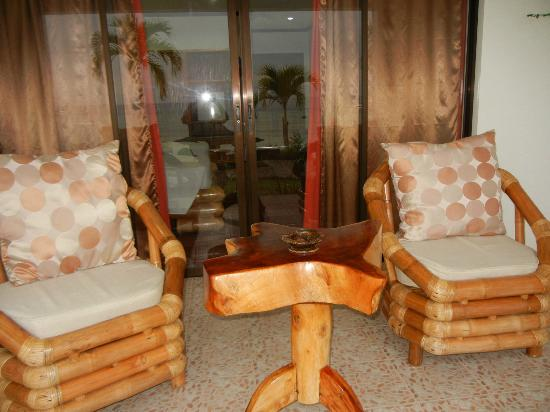 Kasai Village Dive & Spa Resort: Patio furniture