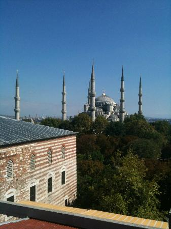 Hotel İbrahim Paşa: morning terrace view
