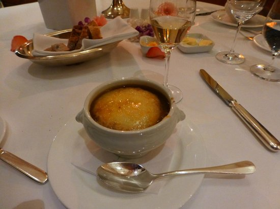 Restaurant Quarre: Onion soup