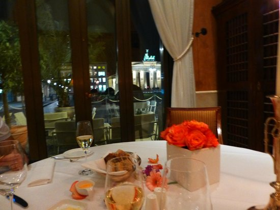 Restaurant Quarre: Our romantic table