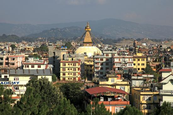 Hyatt Regency Kathmandu: view from my room